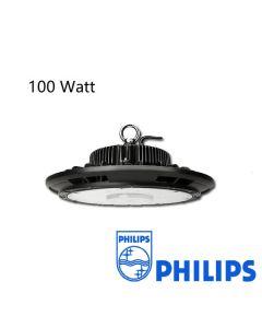 Led High Bay UFO 100W Dimbaar met Philips driver 125L/W IP65