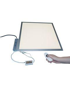 Bi Color LED Paneel 62x62cm 36W instelbaar van K3000 - K6000 incl. Afstandsbediening